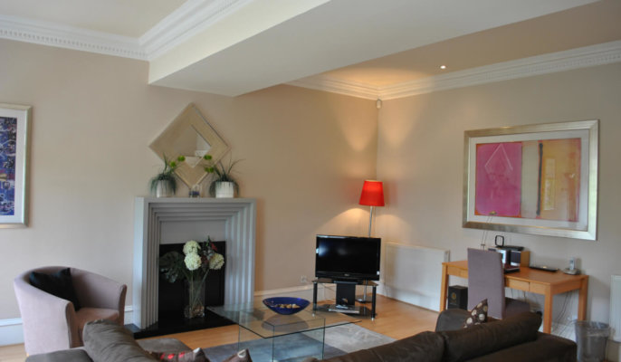 Glasgow West End Living Room 2