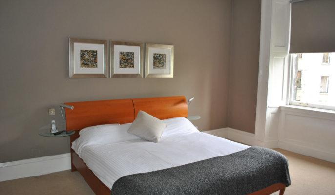 Glasgow West End Bedroom