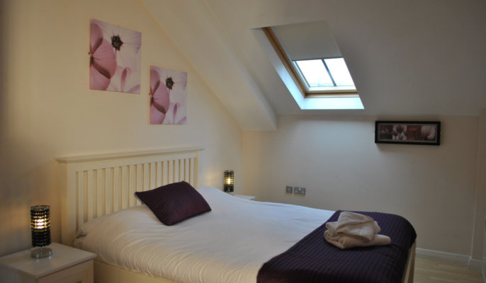 Manchester City Centre Bedroom